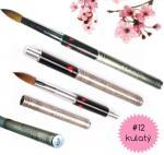 ab Gelike Japannese Cherry Brush Profesionální Luxusní Skládací Štětec na Akryl č.12 - Kulatý.